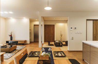 大崎平屋の家モデルハウス (12)
