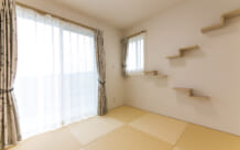 キャットウォークがある猫と暮らす平屋の家(石巻市・Y様)のサムネイル