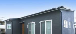 ダーク系でまとめたシックな平屋の家(大崎市・N様)のサムネイル