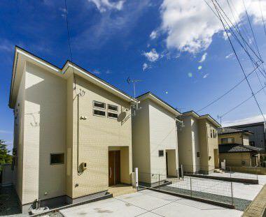 多賀城駅まで徒歩8分の太陽光発電付、新築建売