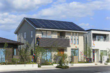 大崎高品位の家モデルハウス (1)